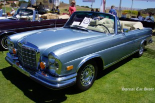 1971 Mercedes Benz 280SE 3.5 Cabriolet at Legends of The Autobaun 2014