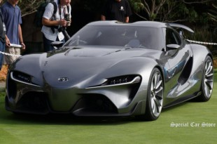 Toyota FT 1 Concept at Pebble Beach Concours d'Elegance 2014 Monterey Car Week