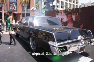 1966 Imperial Crown Sedan, Seth Rogen Unveils Green Hornet Car - Comic-Con International 2010