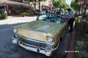1956 Chevrolet Bel Air Convertible: Honey Bee by designed by Chip Foose