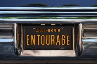 1965 Lincoln Continental Convertible seen on HBO's Entourage