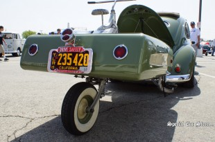 1954 VW Bug and Trailer - Bug-In 38 at Irwindale Speedway Custom Volkswagens