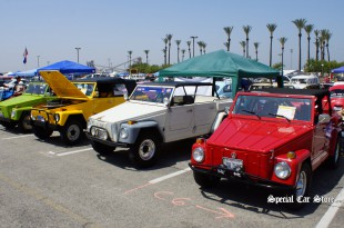 VW Thing Row - Flat-4 Bug-In 38 45th Anniversary