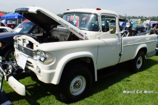 1960 Dodge Power Wagon Scene@ Steve McQueen Car and Motorcycle Show