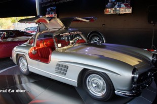 "1956 Mercedes-Benz 300 SL ""Gullwing"" coupe offered at Russo and Steele Moneterey 2014"