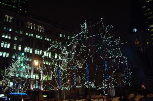 Christmas in Montreal Quebec