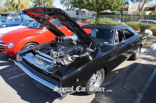 1970 Dodge Charger, Supercharged! -McCormick's Auction 53 Palm Springs 2012
