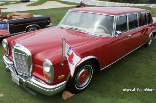 1972 Mercedes-Benz 600 Pullman, The Red Baron -  Dana Point Concours d'Elegance 2013