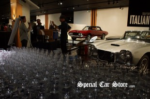 Italian Classic Display, Around The World in 80 sips, Petersen Automotive Museum