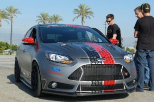 "Tanner Foust ""Signature"" Ford Focus at Irwindale Event Center"