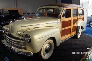 1947 Ford V-8 Model 79A Super Deluxe Station Wagon at Gooding and Company Auction Pebble Beach 2015