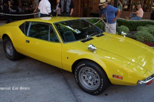 1971 De Tomaso Pantera Formerly owned by Elvis Presley at Downtown Burbank Car Classic 2013