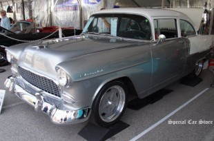 1955 Chevrolet 210 sold at McCormick's Palm Springs Collector Car Auction 58