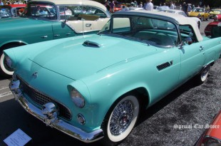 1955 Ford Thunderbird at Greystone Mansion Concours d'Elegance 2014