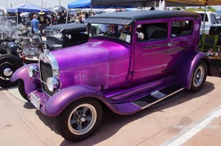 1928 Ford at MoonEyes Car Show and Drag Race 2014