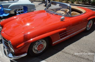 1961 Mercedes-Benz 300SL Roadster at Rodeo Drive Concours d'Elegance 2014