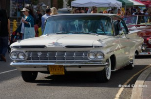 1959 Chevrolet Biscayne at the 21st Annual Glendale Cruise Night