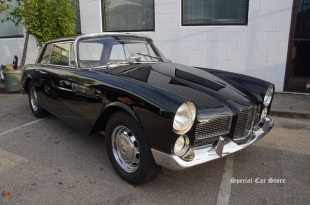 """1962 Facel Vega Facellia at """"Steering With Your Knees"""" book signing event at Etceterini Garage"""