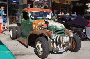 1942 Chevrolet Custom Rat Rod Truck at Downtown Burbank Car Classic 2015