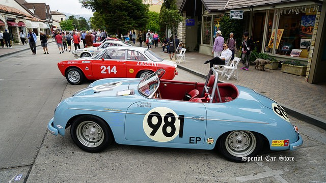 Carmel-by-the-Sea Concours on the Avenue 2017