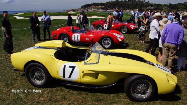 Pebble Beach Concours to Host Premier Celebration of Ferrari 70th Anniversary